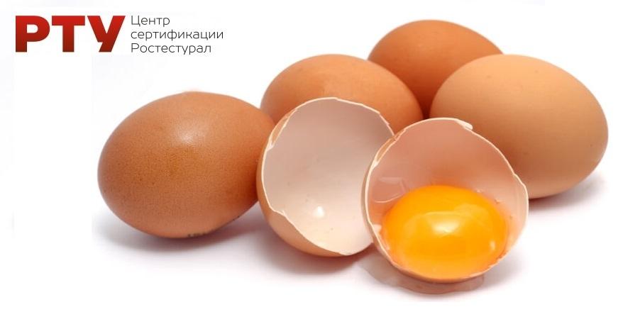 Сертификат на яйцо